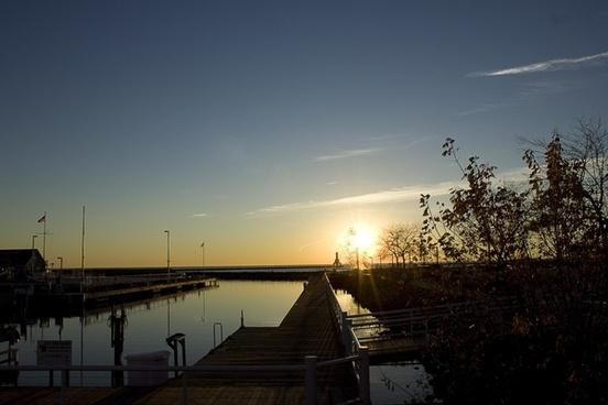 beyond the docks at port washington wisconsin