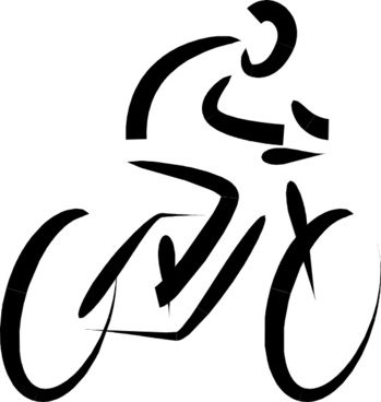 Bicycle Exercise clip art