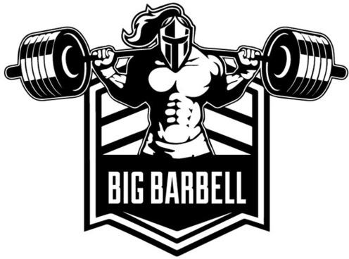 big barbell illustration