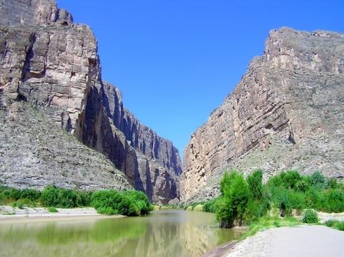 big bend texas landscape