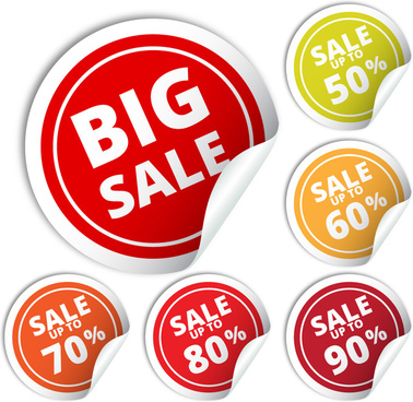 big sale badge