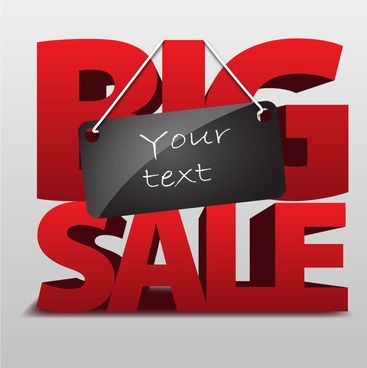 big sale template