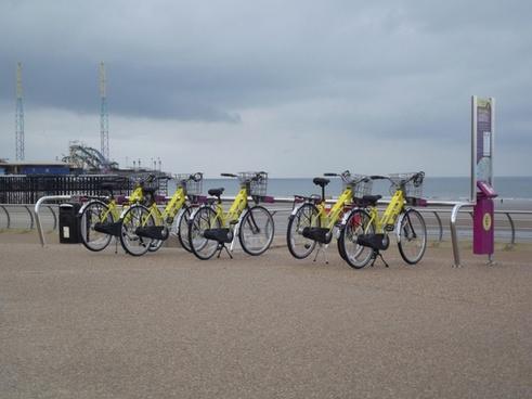 bike hire on the beach