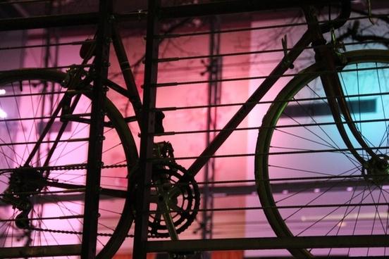bike road night