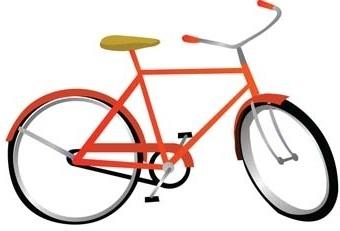 bike sport vector 13