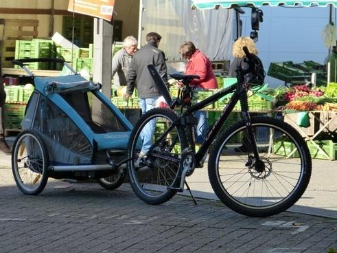 bike wheel trailers