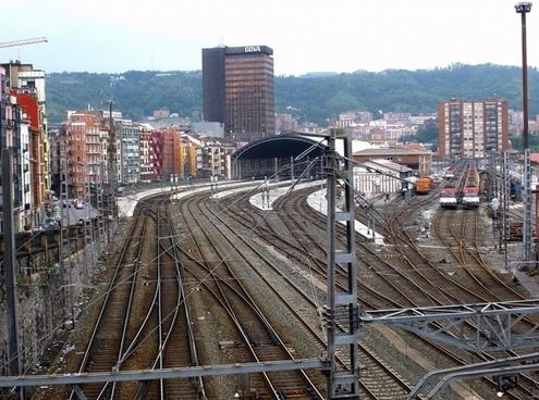 bilbao spain railroad