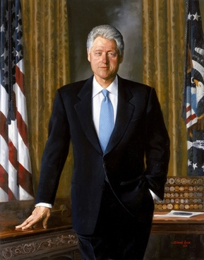 bill clinton president usa