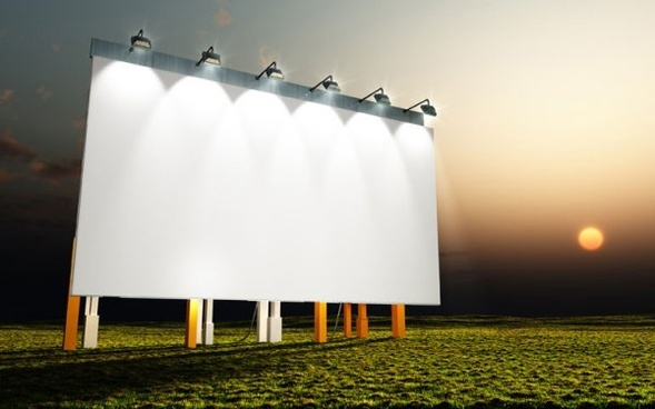 billboards and frame highdefinition picture