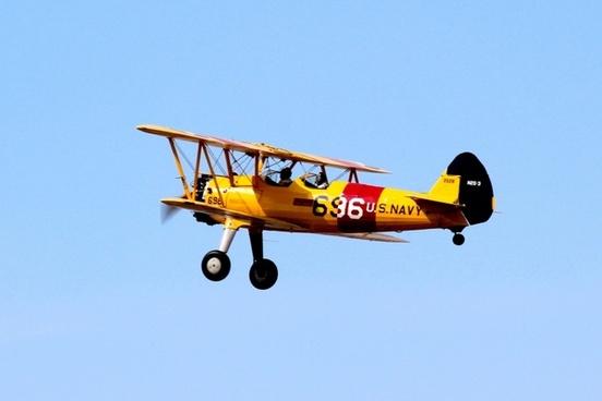 biplane airplane oldtimer