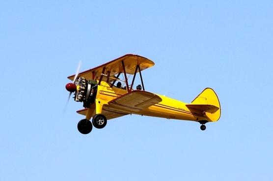 biplane airplane plane