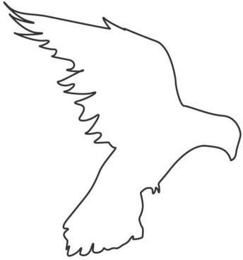 bird icon outline