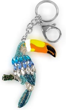 bird key ring keychain