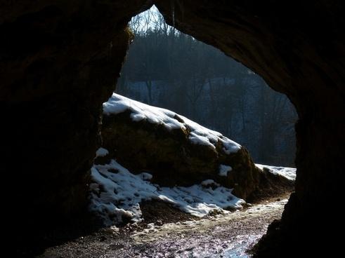 bird stove cave cave caves portal