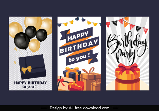 birthday banner templates eventful gifts balloons ribbon decor