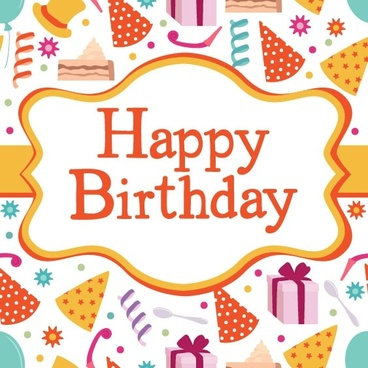 Birthday Card Free Vector Download 13188 Free Vector For
