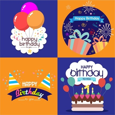 birthday card for girlfriend free vector download 102 902 free