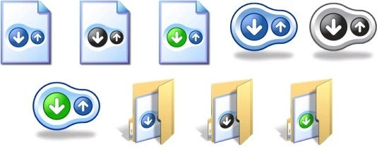 BitTorrent Icons icons pack