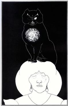 black and white portrait art