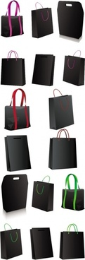 black bag vector