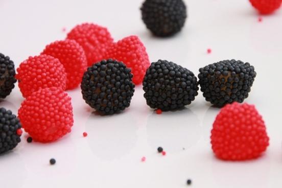 black blackberries candy
