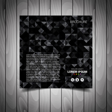 Black And White Flyer Templates Free Vector Download 23874 Free