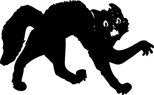Black Cat clip art