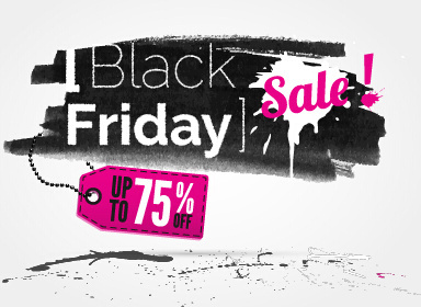 black friday sale background creative vector