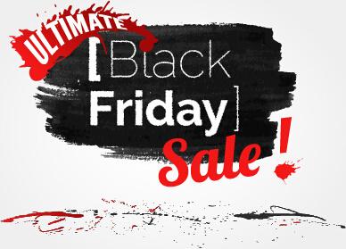 black friday sale background creative vector