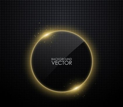 black glass frames vector background