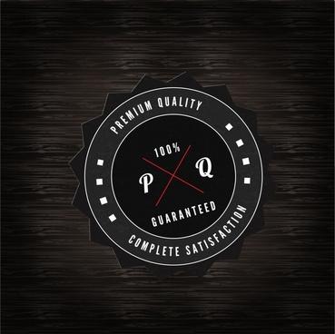 black label vector