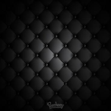 black leather background illustration