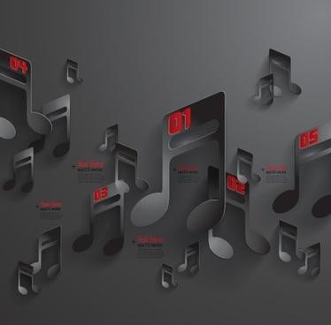 black paper vector background
