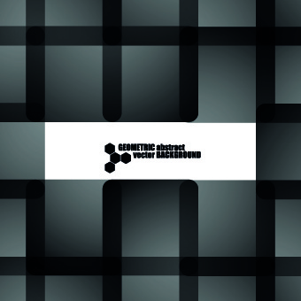 black plaid background vector graphic
