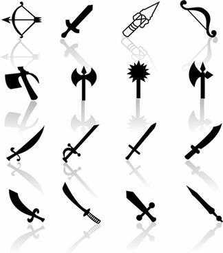 Black Symbols - Weapons