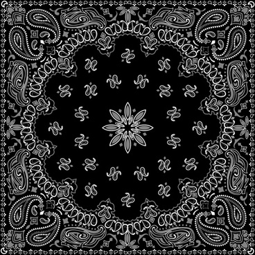 Bandana stencil designs free vector download (114 Free