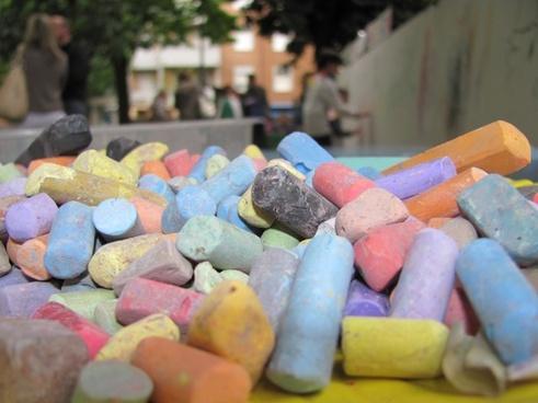 blackboard chalks colors chalks