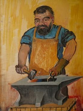blacksmith craft profession