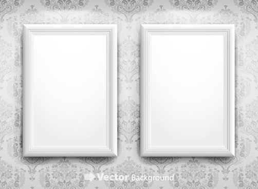 picture frame templates simple plain white decor