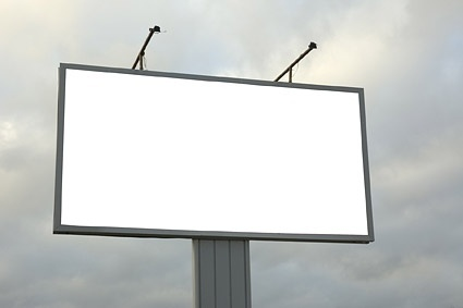 blank largescale outdoor billboard picture 5