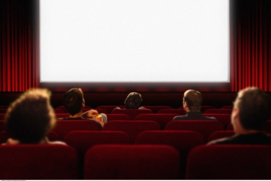 blank movie screen highdefinition picture