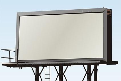blank outdoor billboard picture 4