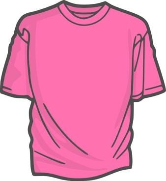 Blank T Shirt clip art