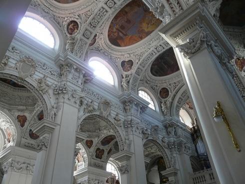 blanket stucco ceiling frescoes