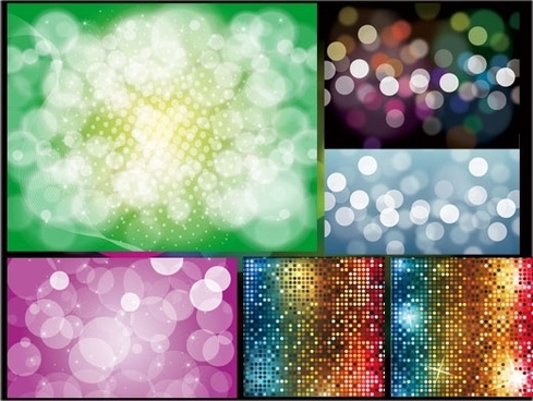 bling bling shiny dissolved figure vector background