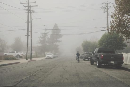 blizzard disaster fire flood fog hurricane mist
