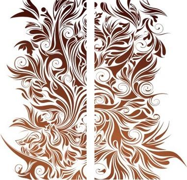 bloom pattern vector