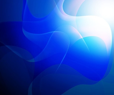 blue abstract vector art background graphic