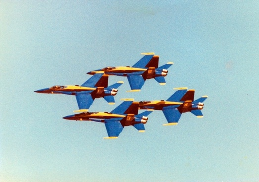 blue angels over mcas miramar ca