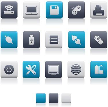 blue ash creative icons vector